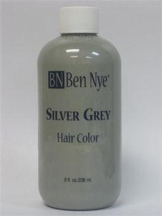 Ben Nye Dark Grey Hair Color Grey Hair on Pinterest...