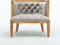 Williamson Barrel Chair Upholstery: Dove Gray, in Natural Natural Furniture, Luxury Home Furniture, Online Furniture, Furniture Ideas, Modern Furniture, Dove Grey, Gray, Barrel Chair, Chair Upholstery