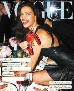 Irina Shayk for Vogue Italia December 2017