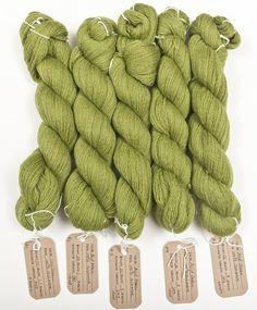 Green yarn    Crush Cul de Sac