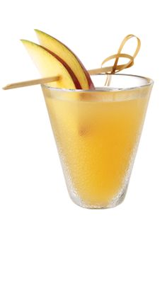 TUACA® Vanilla Citrus Liqueur | TUACA Tuscan Spice | 1 oz TUACA 1 oz mango nectar 1/2 oz lemon juice 2 dashes cayenne pepper mango slice  Shake all ingredients but mango slice with ice and strain into a shot glass.   Garnish with a mango slice | tuaca.com