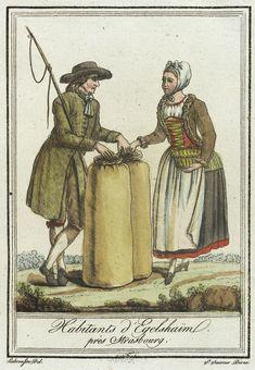 Strasbourg, Satirical Cartoons, Man Of La Mancha, French Costume, Saint Sauveur, German Outfit, 18th Century Fashion, 19th Century, Historical Clothing