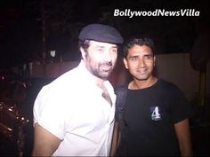 sunny deol spotted at screening of ishkq in paris.