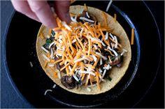 Mushroom Quesadillas - Recipes for Health - NYTimes.com