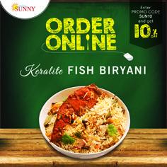 ORDER ONLINE & GET 10% OFF Website - www.hotelsunny.in For reservation:2522-5616/3549  #hotelsunny #tasteofmumbai #offer #keralafood #tasteofkerala #fishbiryani #nonveg #mumbai #mymumbai #keralabiryani #foodie #yum #yummy #orderonline #homedelivery #delivery #fooddelivery #zomato #kerala #tastyfood #biryanilover #bandra #dadar #kurla #tasty