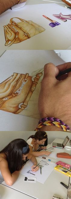FASHION ILLUSTRATION WORKSHOP BY KIKAYIS IN BARRANQUILLA