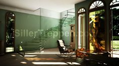 All-glass Mistral by Siller Treppen