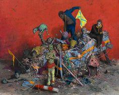 Domani a MAMbo di Bologna preview per la stampa della mostra di Jonas Burgert