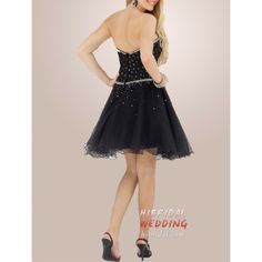 Cute Short Dresses for Teens   Cute Short Black Cocktail Prom Dresses for Spring h2mfb16