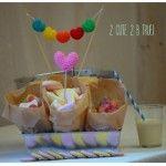 Traktaties cupcakes en taartjes