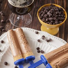 Dark Chocolate Cheesecake Stout Pops | Nugget Market Recipes