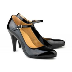 1d149d705fa3 E.V.S. - Eco Vegan Shoes - Hellen High Heels Black