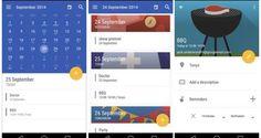 Today Calendar adopta el diseño de Android L tras la actualización