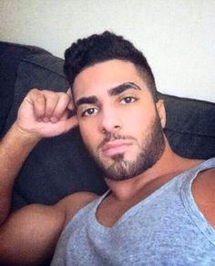 Cute Arab man