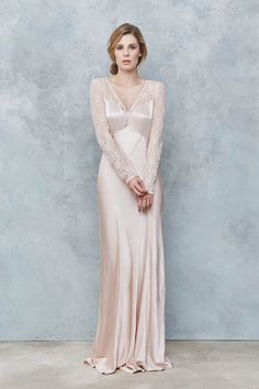 The latest Ghost collection is perfect for boho bridesmaids - Style 1687 Ghost Bridesmaid Dress, Vintage Bridesmaid Dresses, Boho Bridesmaids, Bridesmaid Ideas, Silk Satin Dress, Satin Dresses, Gorgeous Wedding Dress, Glamorous Wedding, Bridal Gowns