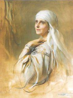 Philip Alexius de Laszlo's H.M. Queen Marie, the Queen Mother of Roumania