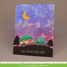 the Lawn Fawn blog: Lawn Fawn Video {8.4.15} A Starry Night Sky with Chari!