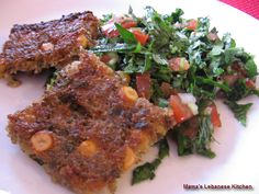 Lebanese Vegetarian Potato Kibbe Recipe – Kibbeh Aat'aa