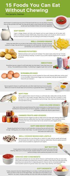 Food After Wisdom Teeth, Wisdom Teeth Removal Food, Teeth Surgery, Oral Surgery, Pureed Food Recipes, Diet Recipes, Healthy Recipes, Liquid Diet Foods, Gum Recipe