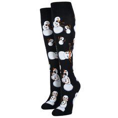 Purple Leopard Boutique - Women's Knee High Socks Christmas Holiday Twisted Snowman, $13.50 (http://www.purpleleopardboutique.com/womens-knee-high-socks-christmas-holiday-twisted-snowman/)