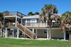 Ross 5 - 3 bedroom/2 bath - sleeps 10; beachside in Pirates Beach; Sand 'N Sea Properties LLC, Galveston, TX
