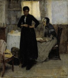 Out into the World, 1889, Maria Wiik