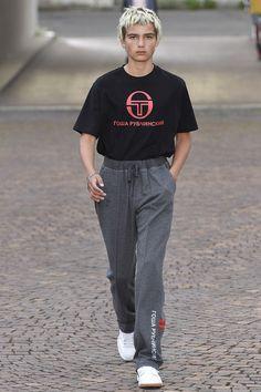 Gosha Rubchinskiy Spring/Summer 2017 Menswear Collection