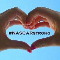 Sending love & prayers for @SteveByrnes12 & @SherryPollex & anyone else who is also battling cancer. #NASCARStrong
