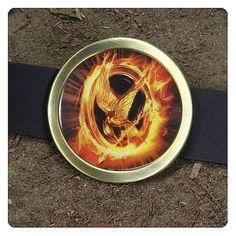 Hunger Games Movie Mockingjay Belt Buckle
