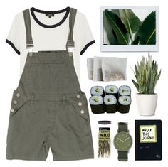 """Olive"" by child-of-the-tropics ❤ liked on Polyvore featuring A.P.C., Void, PLANT, Urban Outfitters and Jura"