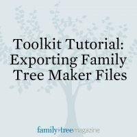 Tutorial: Export Family Tree Maker Files   ShopFamilyTree