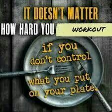 Control what is on our plate, visit staceyhawkins.com for great recipes and tips!