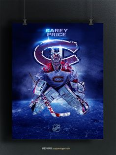 Montreal Canadiens, Hockey, Darth Vader, Sports, Movie Posters, Fictional Characters, Logos, Design, Film Poster