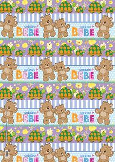 Papel de regalo querido bebé osos