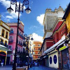 #FelizMartes a tod@s desde #Sevilla - Plaza del Pan.