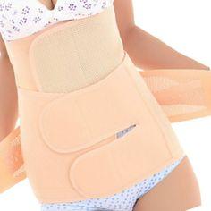 EQMUMBABY Fitnessband Postnatal Erholung Bauchgurt High H�ftgurtl Body Slimming Form Shaping 2 in 1 - Gr��e S