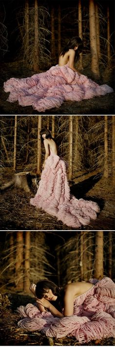 An incredible Knitted Dress by Jemma Sykes! Truly spectacular!