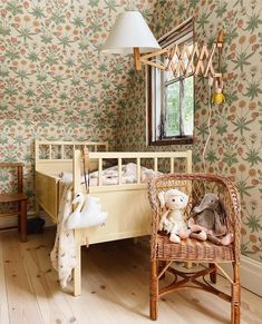Baby Bedroom, Nursery Room, Girls Bedroom, Kids Room Paint, Kids Room Wallpaper, Kids Room Organization, Big Girl Rooms, Kids Room Design, Kid Spaces
