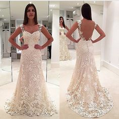 I found some amazing stuff, open it to learn more! Don't wait:https://m.dhgate.com/product/white-lace-a-line-wedding-dresses-2016-sexy/389827370.html