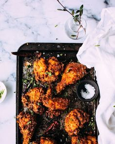 Indian Fried Chicken - Foodess