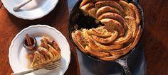 Baked Apple Cinnamon Skillet French Toast