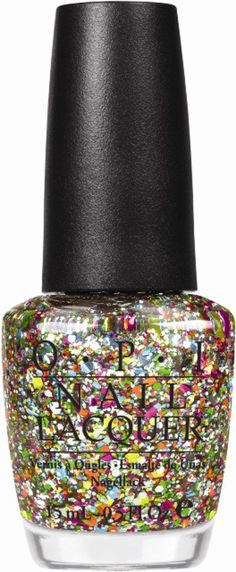 If you can find a cooler looking sparkly nail polish than this, tell me.