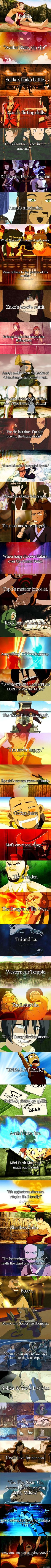 Why I love Avatar: The Last Airbender <3.When Aang chooses Katara over the avatar state <3.Well that's amazing just saw this episode< THE FEELS!