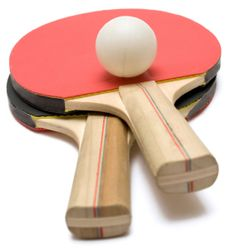 I love playing tabletennis