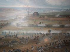 """""""Climax of the Action at Crysler's Farm"""", by Adam Sherriff-Scott, Mural at the Cryslers Farm visitor centre, copyright unknown Photographed by J. Gray - Canadian Military - War of 1812"""