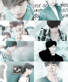 """ Color meme : Lay + turquoise ( requested by hee-rella ) """