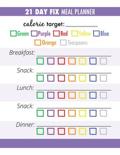 Having trouble planning your 21 Day Fix Meals? Follow these 3 steps for successful meal planning: bitly.com/21DayFixMeals health // fitness // fitspo // workout // motivation // exercise // 21 Day Fix EXTREME // Meal Prep // diet // nutrition // Inspiration // recipe // recipes