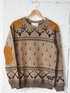 158a2012bf8 analog lighting park ranger sweater 1 Cool Sweaters