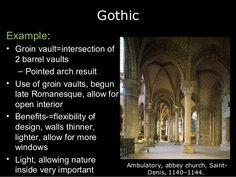 romanesque vs gothic - Google Search