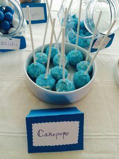 Cakepops para baby shower
